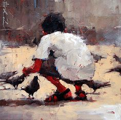 """Pegions"" - Andre Kohn"