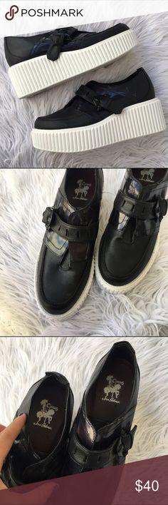 SAM EDELMAN SZ 8 PLATFORM CREEPER STYLE SHOES Awesome shoes Circus by Sam Edelman Shoes