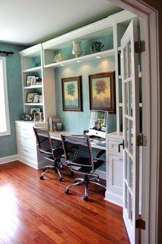 office/guest rm built ins