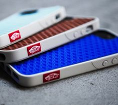 Vans iPhone 5 Case / The Vans Waffle Sole iPhone 5 Case was inspired by Vans skate shoes made famous in Southern California during the 1960′s. http://thegadgetflow.com/portfolio/vans-iphone-5-case/