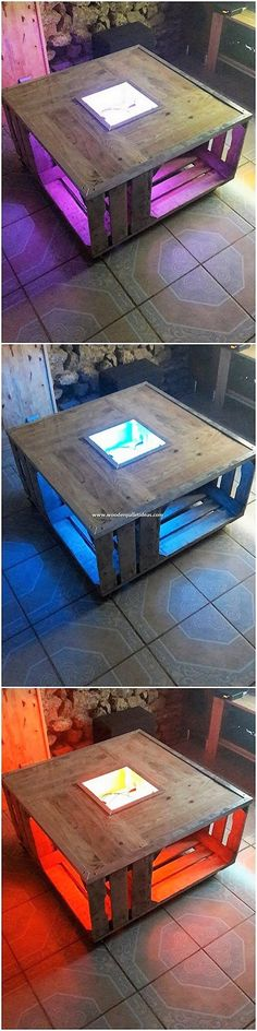 Fantastic Looking DIY Wooden Pallet Creations: Let's make your house flourishing best and remarkable in the beauty outlooks with the awesome re-purposing ideas of the shipping wood pallets. Wood Pallet Planters, Wooden Pallets, Wooden Diy, Diy Art Projects, Diy Pallet Projects, Pallet Ideas, Reclaimed Wood Wallpaper, Pallet Light, Custom Couches