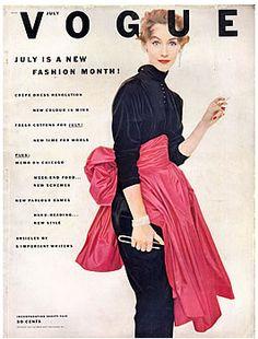 Ruth Neumann~Derujinsky - Vogue July 1952 By Irving Penn