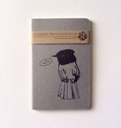 Moleskine Mini Birding Journal Travel by vandaliastreetpress, $7.00