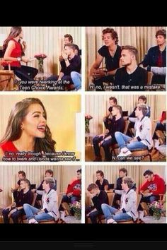"Oh NIALL...liam in the last picture is like ""niall you cant just say that"""