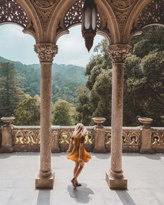 A Guide To Visiting Sintra Castles in Portugal - - Sintra, Portugal is filled with enchanting castles like Pena Palace and Quinta da Regaleira, and its an easy day trip from Lisbon. Here's everything you need to know to plan a visit to Sintra. Road Trip Portugal, Portugal Travel Guide, Visit Portugal, Spain And Portugal, Beautiful Places To Visit, Cool Places To Visit, Places To Travel, Travel Destinations, Travel Tips