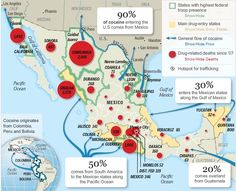 Borderland Beat: Maps of the Mexico Cartels Mexican Drug War, Prison Escape, Gulf Of California, How To Defend Yourself, Drug Cartel, Troops, Drugs, Map, Drug Trafficking