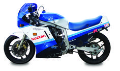 1987 Suzuki GSX-R750H, featured in the December 2009 issue of Rider magazine.