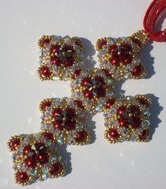 Charlcie's Cross by Julie Tanksley   Jewelry Pattern