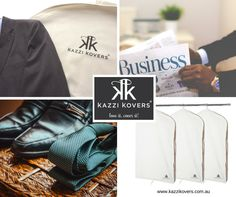 Mens Suit Bags. 100% Cotton. For travel and storage purposes