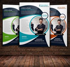 Creative Business Flyer Template by Psd Templates on @creativemarket