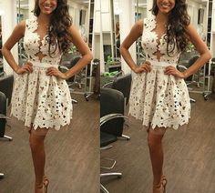 Vestido Renda e Tule Cod961
