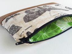 zipper clutch Date Night Clutch vegan leather by CandiedCottons