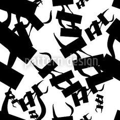 Hochqualitative Vektor-Muster auf patterndesigns.com - Schwarz-Weiss-Muster-Abstrakt, designed by Matthias Hennig  #pattern #patterndesign #muster #design #hennig #matthias #vector
