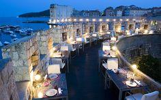 Gil's - Dubrovnik, Croatia.  http://hrgalerija.gilsdubrovnik.com/index.php?page=restaurant-gallery