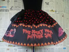 Rocky Horror Show Costume, Rocky Horror Picture Show, Cosplay, ALL SIZE, Fun Skirts, Rooby Lane