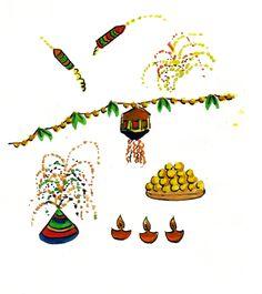 दिवाली की धूम जगमग दिवाली आयी रे आयी, पटाखों का धूम धड़ाका लायी, चारों तरफ़ उजाला लेकर आयी, हम सभी में ख़ुशियों को लायी। मिठाइयों की सौगात साथ लायी, नये नये कपड़ों की बहार लायी, साथ में मस्ती ही मस्ती लायी, दिवाली आयी…