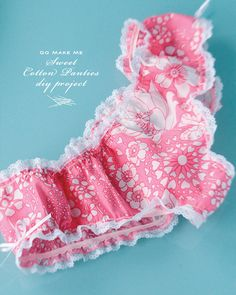 DIY: sweet cotton panties