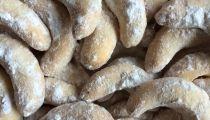 Vídeňské vanilkové rohlíčky - bez lepku a ořechů