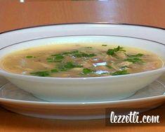 Terbiyeli Tavuk Çorbası nasıl yapılır? Resimli tarifle yapmayı öğrenin.