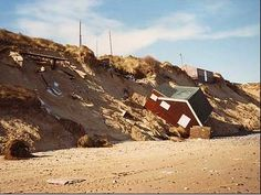 Coastal Erosion -- Superstorm Sandy