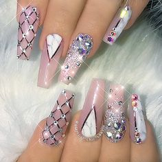 """449 Likes, 6 Comments - NAIL TRENDS (@the.glitter.nail) on Instagram: """": Picture and Nail Design by •• @glamour_chic_beauty •• ❤️Follow @glamour_chic_beauty for more…"""""""