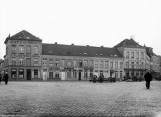 Ankerrui de onteigeningen voor de tunnel waaronder Café Du Nord, Barber-Shop coiffeur Heeren, Chinees restaurant Pun Hong en Café Welkom op de Entrepotkaai.1931