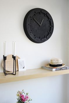 Styling: Zuiver Pulp Time Clock | Peek Inside