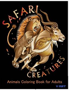 Safari Creatures: Animals Coloring Book for Adults (Volume 2) by V Art http://www.amazon.com/dp/1523914394/ref=cm_sw_r_pi_dp_.qoUwb09DMNWE