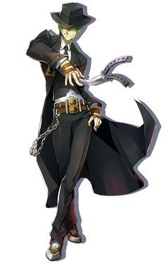 Hazama from BlazBlue: Central Fiction