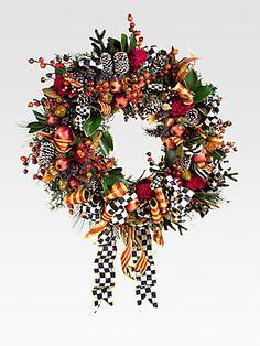 MacKenzie-Childs Farmhouse Wreath