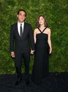 Pin for Later: No Red Carpet Is Stylish Enough Until Rose Byrne and Bobby Cannavale Arrive Bobby Perfectly Complemented Rose's Maternity Style Rose wearing a custom Chanel dress and accessories and Rupert Sanderson shoes.