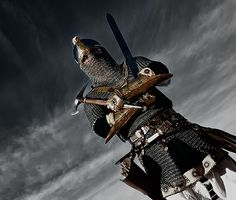 Awesome Persian recreations of ancient military personel