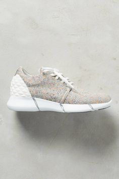 Calu Shimmered Sneakers by Elena Iachi #anthrofave #anthropologie