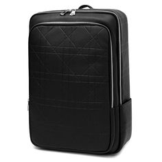 TOPPU14 inch Laptop Backpack- S. Korea High Quality Leather Bag for Men,Front zip pocket and 2 side pockets,14 inch Laptop Compartment, Mesh Pad