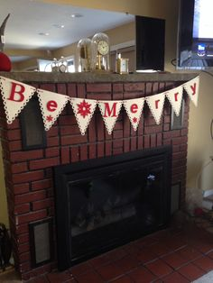 Be merry christmas banner sizzix die cut snowflake snowflakes felt burlap alphabet cord pairofpetals.com