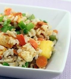 Mango Coconut Fried Rice