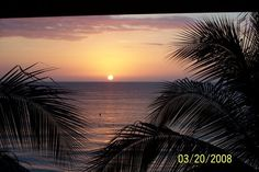 Sunset  negril  jamacia