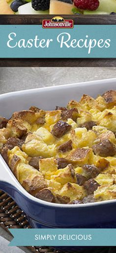 This Simply Delicious Casserole requires very little prep work! Johnsonville Fully-Cooked Breakfast Sausages come together with pantry staples in no time!