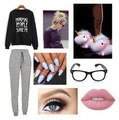 """Lazy Day Outfit!"" by heyitzfran on Polyvore featuring Icebreaker and Lime Crime"