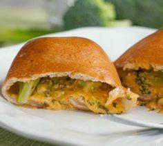 Broccoli Cheddar Pockets | Simple Dish: Real food for real life.