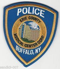 Erie County Medical Center Police patch N.Y.