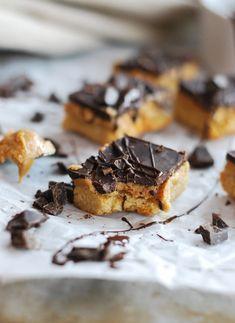 Hälsosamma snickers, glutenfri, utan tillsatt socker //Baka Sockerfritt