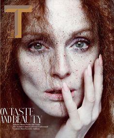 Magazine: TMagazine April 2013 Model: Julianne Moore Shoot: Inez & Vinoodh