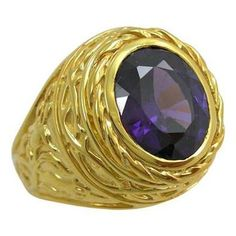 Bishop rings are popular Christian accessories with empowering designs. Our Easter Lily Bishop Rings boast a huge amethyst and 14 gold plating over solid silver Silver Skull Ring, Gold And Silver Rings, Sterling Silver Rings, Skull Rings, Purple Jewelry, Gems Jewelry, Gemstone Jewelry, Bishop Ring, Best Gifts For Him
