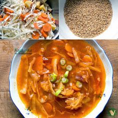 Thai Red Curry, Ethnic Recipes, Soups, Fitness, Bulgur, Soup