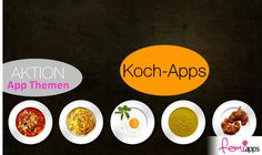 """AKTION: APP-THEMA """"KOCH-APPS"""" (IPHONE & ANDROID)"""