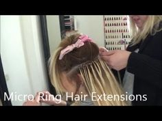 Micro ring extensions tutorial - YouTube