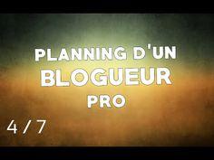 """Devenir Blogueur """"pro"""" : planning de publication + plan d'action"""