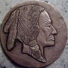Mike Pezak Hobo Nickel, Buffalo, Classic Style, Coins, Carving, Artist, Rooms, Wood Carvings, Artists