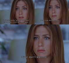 Find images and videos about love, quotes and Jennifer Aniston on We Heart It - the app to get lost in what you love. Citations Film, Favorite Movie Quotes, Movie Quotes About Love, 10 Things I Hate About You Quotes, Romantic Movie Quotes, How To Lose A Guy In 10 Days Quotes, The Ugly Truth Movie, Before We Go Quotes, 500 Days Of Summer Quotes